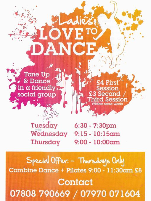Dance Classes for 2018 starts 2nd January