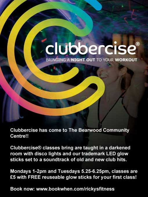 New for 2018 – Clubbercise