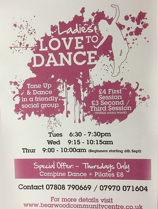 New Ladies Dance Classes
