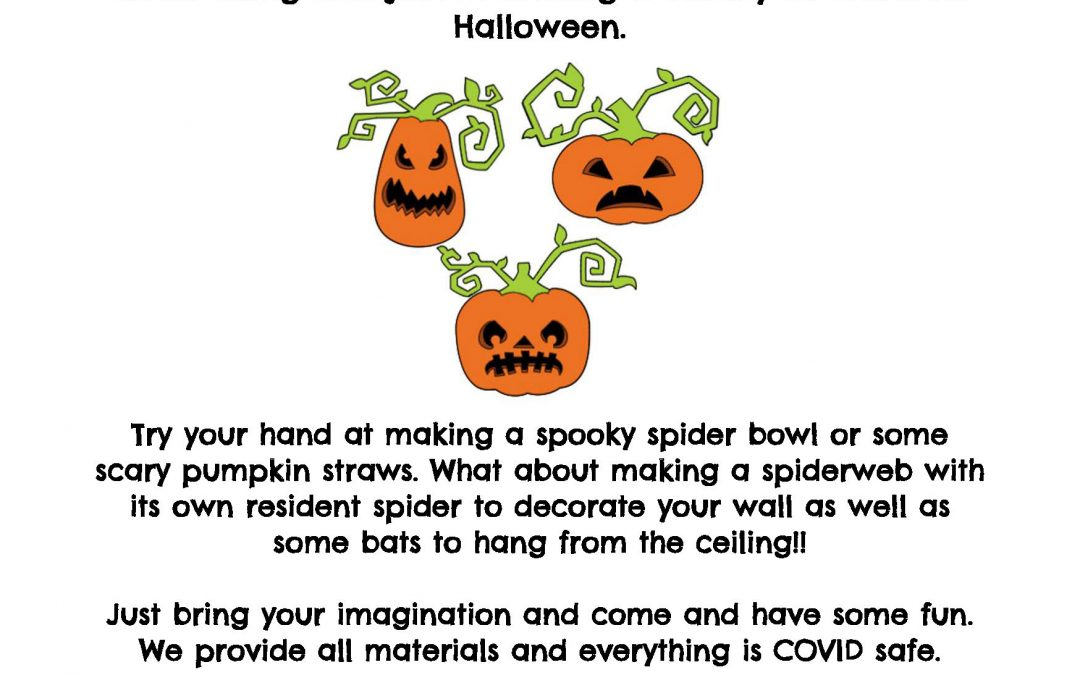 Halloween Crafting Activity at Bearwood